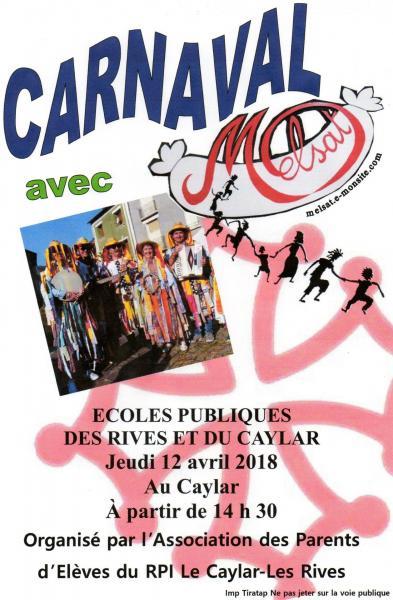 carnaval Le Caylar 12 avril 2018