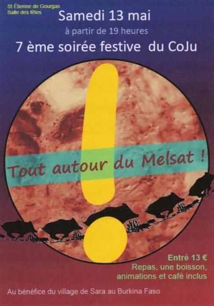 Soirée COJU St Etienne 13 mai 2017