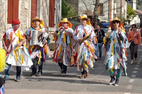 Déambulation carnavalesque!