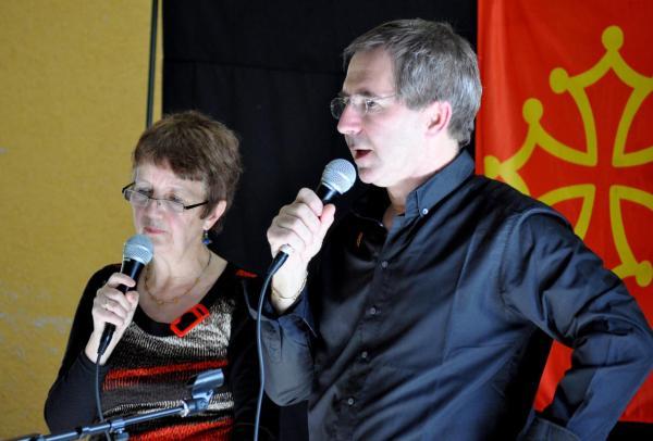 Françoise et Jean-luc au chant