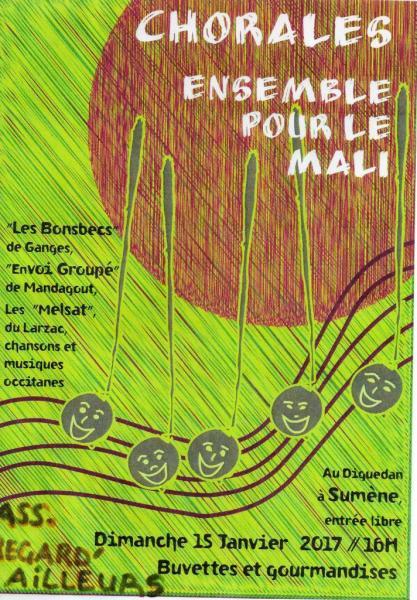Sumène Ensemble pour le Mali 15 janvier 2017