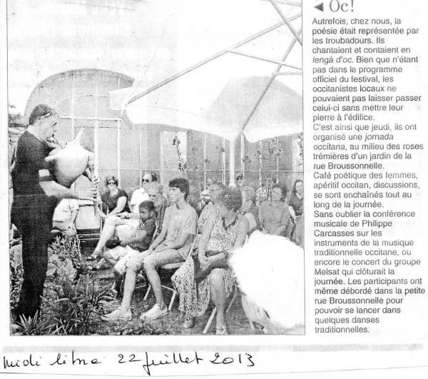 midi libre voix méditerrannée juillet 2013