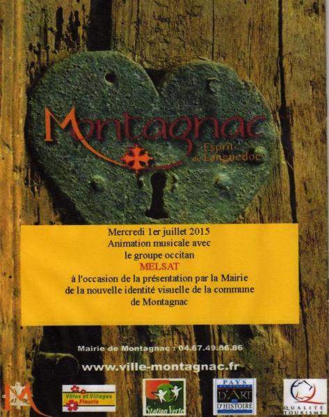 Concert Montagnac 1er juillet 2015